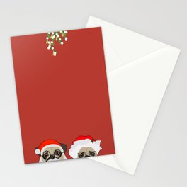 Mr And Mrs Claus Stationery Cards