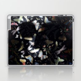 Butterfly And Skull Laptop & iPad Skin