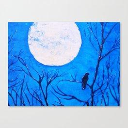 Midnight Chill Canvas Print