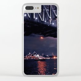 Iconic Sydney Clear iPhone Case