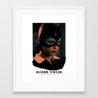 ghost world Framed Art Prints featuring Ghost World movie poster by Adam Juresko