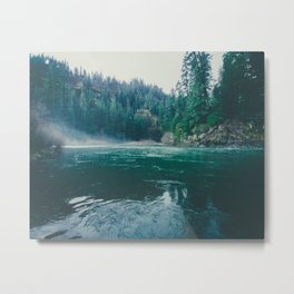 Clackamas River Metal Print