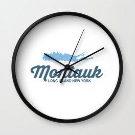Montauk -Long Island. Wall Clock