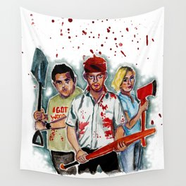 Shaun of the dead Wall Tapestry