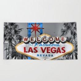Welcome to Fabulous Las Vegas Beach Towel