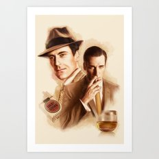 MAD MEN DON DRAPER Art Print
