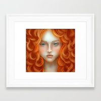 rebel Framed Art Prints featuring Rebel by Alexia Rose