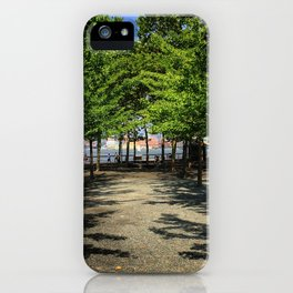 Waterfront Park iPhone Case