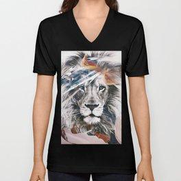 LION 6 Unisex V-Neck