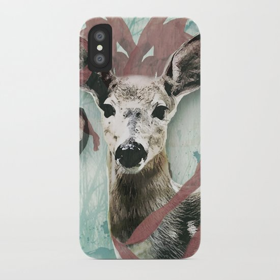majestic fawn iPhone Case