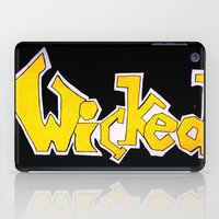 wicked iPad Cases featuring Wicked by Mollybaggy
