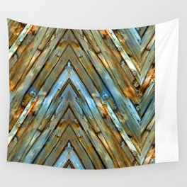 Knotty Plank Texture Wall Tapestry