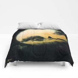 Autumn Moon Comforters