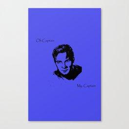 Oh Captain, My Captain-Kirk Canvas Print