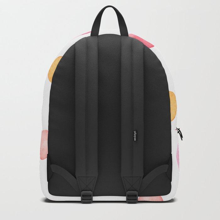 Pastel ink drops Backpack