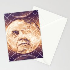 Man in the Moon Phases Stationery Cards