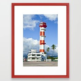 Ford Island Tower Framed Art Print