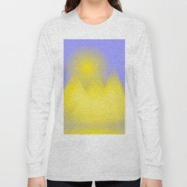 The three pyramids in the sun Long Sleeve T-shirt