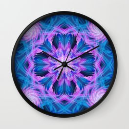 Clouds Mandala Wall Clock