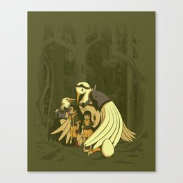 Aviary Adoption Canvas Print