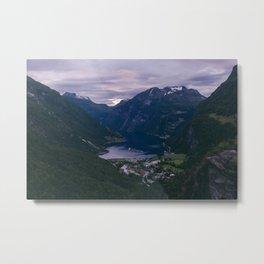 Norway II Metal Print