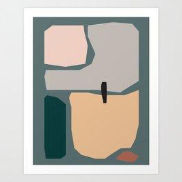 // Shape study #20 Art Print