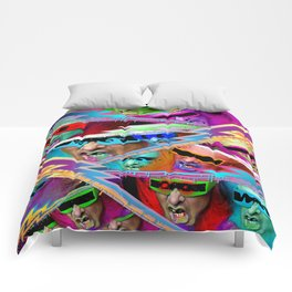 Punk For Life Comforters