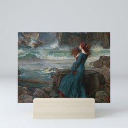 Miranda by John William Waterhouse Mini Art Print