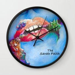 Delirious Wall Clock