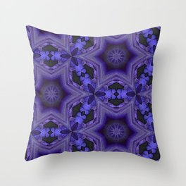 Purple Passion Pattern 13 Throw Pillow
