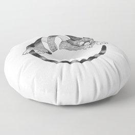 Cat Loop Floor Pillow