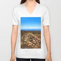 utah V-neck T-shirts featuring Utah by Chris Root