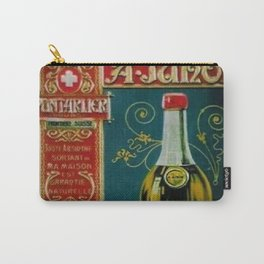 Vintage Absinthe Liquor Aperitif A. Junod Pontarier Advertising Poster Carry-All Pouch