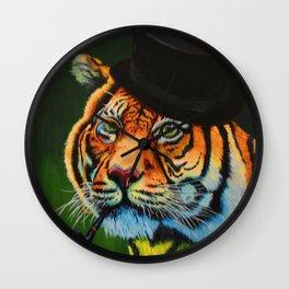 The Tiger Baron Wall Clock