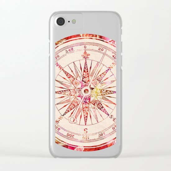 Follow Your Own Path II Clear iPhone Case