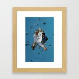 """LEATHER RIDES HIGH"" Framed Art Print"