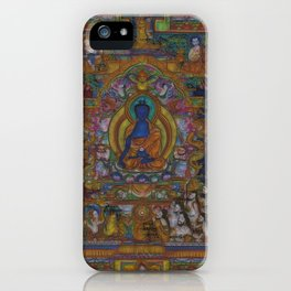 The Medicine Buddha iPhone Case