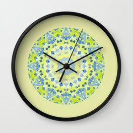 Tilted Order Circle Bright Wall Clock