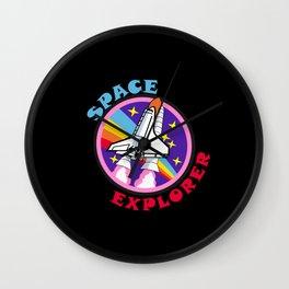 Space Explorer Wall Clock