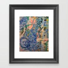Stone vision Framed Art Print