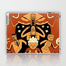 Super Science Friends Kickstarter Poster Laptop & iPad Skin