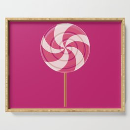 Pink Lollipop Serving Tray