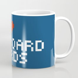 Pegboard Nerds Pixel Coffee Mug
