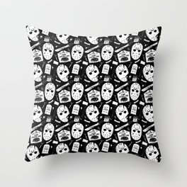 Welcome to Camp Crystal Lake! Throw Pillow