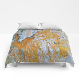 Fire Inside Comforters