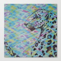camo Canvas Prints featuring Camo by Caballos of Colour