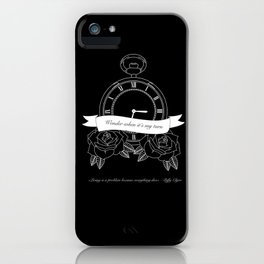 """""""Living is a problem because everything dies"""" - part II - Biffy Clyro iPhone Case"""
