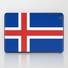 National flag of Iceland iPad Case