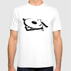 Deck SMALL White Mens Fitted Tee