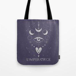L'Imperatrice or L'Empress Tarot Tote Bag